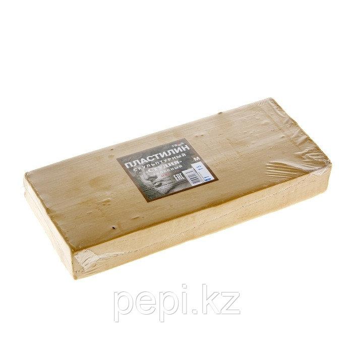 Пластилин скульптурный 0,5кг Гамма (телесный)