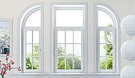 Косоугольные окна (трапецевидные, треугольные) (металлопластиковые, пластиковые, окна ПВХ), фото 1
