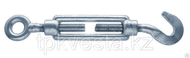 Талреп оцинкованный М16х225 Крюк - Кольцо DIN 1480