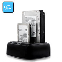 "Док станция ""SATA HDD Docking Station to 2.5"" & 3.5"" HDD-compatible,up to 2TB,5Gbps,USB 3.0  M:YPZ09-U3"""