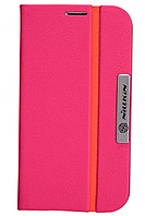 Чехол Nillkin Simplicity Leather Case для Samsung Galaxy S4 I9500 розовый