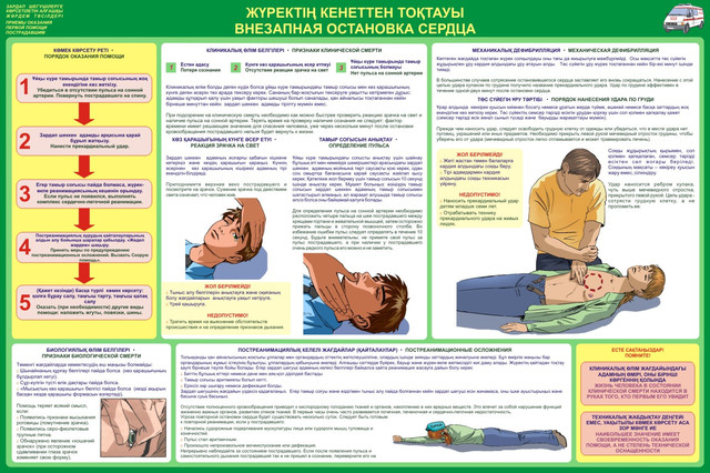 Плакаты первая медицинская помощь