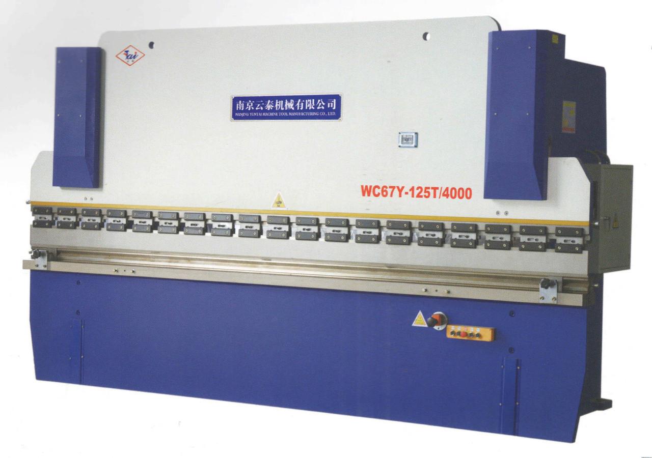 Листогиб гидравлический WC67Y-125T/2500 (Yuntai)