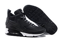 Зимние кроссовки Nike Air Max 90 Sneakerboot Black White (40-45)