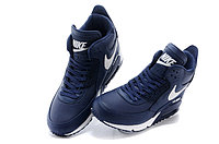 Зимние кроссовки Nike Air Max 90 Sneakerboot Blue White (40-45), фото 3