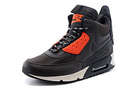 Зимние кроссовки Nike Air Max 90 Sneakerboot Brown Orange (40-45), фото 2
