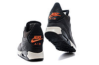 Зимние кроссовки Nike Air Max 90 Sneakerboot Brown Orange (40-45), фото 4