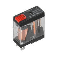 7760056319 DRI314615LT, Реле + LED+Кнопка, Количество контактов: 1, Номинальное напряжение: 48 В AC