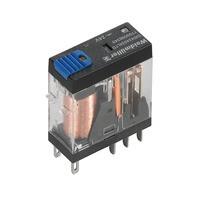 7760056340 DRI424024LTD, Реле + LED+Диод+Кнопка, Количество контактов: 2, Номинальное напряжение: 24 В DC