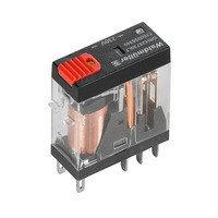 7760056345 DRI424730LT, Реле + LED+Кнопка, Количество контактов: 2, Номинальное напряжение: 110 В AC
