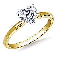 Сертификат GIA 0,30Сt I/SI1 VG Золотое 14K кольцо с бриллиантом