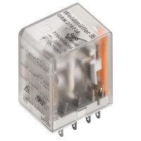7760056187 DRM570024L AU, Реле + LED+золото, Количество контактов: 4, Номинальное напряжение: 220 В DC