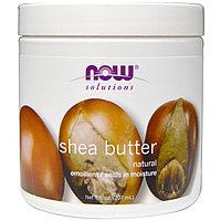 Now Foods, Solutions, сертифицированное натуральное масло ши, 7 жидких унций (207 мл)