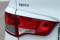 Реснички на задние фонари  Kia Rio 2015+ рестайлинг, фото 1
