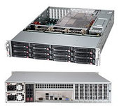 Корпус SuperMicro CSE-826BE26-R1K28LPB 2x1280W черный