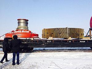 Железнодорожная перевозка негабаритного груза