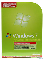 Microsoft Windows 7 Home Basic, Russian, DVD, BOX