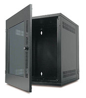 APC NetShelter Wall Mount Enclosure 13Ux584X622mm-Black with Glass door