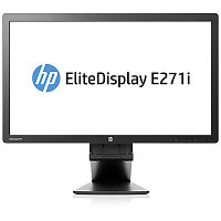 "HP TFT E271i 27"" LED AH-IPS Monitor(250 cd/m2,1000:1,7 ms,178°/178°,VGA,DVI-D,DisplayPort,USB 2.0 Hub, 1920x1080,EPEAT Gold,)"