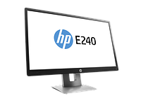 "HP EliteDisplay E240 23,8"" LED Monitor wide(IPS,250 cd/m2, 1000:1, 7ms, 178°/178°, VGA,HDMI,DisplayPort,USB 2.0x2 1920x1080, LED backlight,EPEAT gold)"