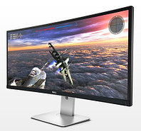 Dell UltraSharp U3415W 34'' Curved LED Monitor BK (IPS; 300 cd/m2; 1000:1; 3440x1440; 8ms; 178/172; speakers; mini DP; DP,HDMI; MHL; Tilt,