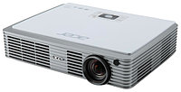 Acer projector K335, WXGA/DLP/DLP 3D/1000 Lm/10000:1/30000 Hrs/SD(Micro, SDHC) Reader/USB-A/USB mini-B/HDMI-MHL/Wi-Fi via Adapter(option)/1.3 kg/Carry