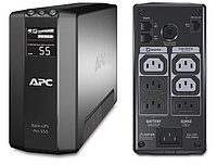 APC Back-UPS Pro Power Saving, 550VA/330W, 230V, LCD, AVR,  6xC13 outlets (3 Surge & 3 batt.), Data/DSL protection, USB, PCh, user repl. batt., 2 year