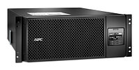 APC Smart-UPS SRT RM, 6000VA/6000W, On-Line, Extended-run, Rack 4U (Tower convertible), Pre-Inst. Web/SNMP, with PC Business, Black