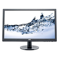 "24"" AOC E2460SH 1920x1080 TN LED 16:9 5ms VGA DVI HDMI 20M:1 170/160 250cd Speakers Black"