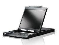 ATEN DUAL RAIL LCD PS/2-USB CONSOLE 19INCH (CL5800NR)