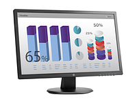 "HP TFT V243 24"" LED Monitor wide(TN, 250 cd/m2, 1000:1, 5ms,170/160,VGA,DVI, 1920x1080,Energy Star)"