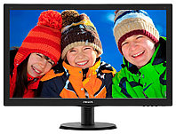 "27"" Philips 273V5LHSB 1920x1080 TN LED  16:9 5ms VGA DVI-D, HDMI 20M:1 170/160 300cd Black."