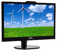 "21,5"" Philips 221S6QYKMB 1920x1080 AH-IPS LED 16:9 5(14)ms VGA DVI DP 20M:1  178/178 250cd Speakers Webcamera microphone PIVOT Black"