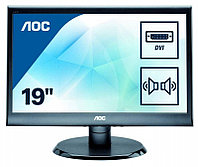 "18,5"" AOC E975SWDA 1366x768 IPS TN 16:9 5ms VGA DVI 50M:1 170/160 250cd Speakers Black"
