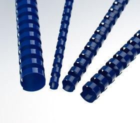 Пружина для переплета, 22мм, 1-190л, пластиковая, синяя Bindermax