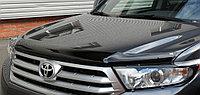 Мухобойка (дефлектор капота) EGR Toyota Highlander 2011-2013 (Euro type)