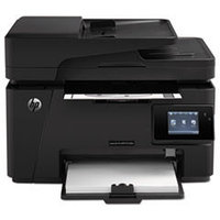 HP LaserJet Pro MFP M127fw (p/c/s/f, A4, 1200dpi, 20ppm, 128 Mb, 1 tray 150, ADF 35 sheets, USB/LAN/Wi-Fi, Flatbed, black, Cartridge 700 pages in