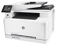 HP Color LaserJet MFP M477fdw (p/s/c/f,A4,600dpi,27(27)ppm,2 trays 50+250,Duplex,ADF 50 sheets,TouchScreen,USB/GigEth/Wi-Fi, 1y warr, 4 cart. in box,
