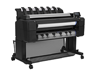 "HP DesignJet T2530 PS MFP (p/s/c, 36"",2400x1200dpi, 128GB, HDD 500GB, 2 rolls, autocutter, output tray; Scanner 36"",600dpi; stand, touch display, ext"