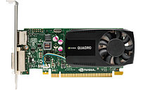 Graphics Card NVIDIA Quadro K620, 2GB, 1xDual link DVI-I, 1хDisplayPort(1xDisplayPort-> DVI Adapter) PCI-E x16 (Z440, Z640, Z840)