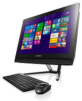 "Lenovo Idea Center С40-30 21,5"" FHD (1920x1080)/Core i3 5005U/ 4GB/HDD 500GB 7200RPM/VGA Integrated/DVD-RW/DOS/Black"