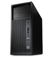HP Z240 TW, E3-1245v5, 8GB(2x4GB)DDR4-2133 ECC, 1TB SATA 7200 HDD,  SuperMulti ODD, Intel HD GFX 530, mouse, keyboard, CardReader, Win10Pro 64