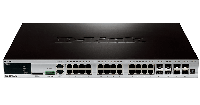 D-Link DGS-3420-28TC/B1A, 24-ports 10/100/1000Base-T L2+ Stackable Management Switch