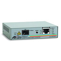 Allied Telesis 1000T to SFP Media Converter
