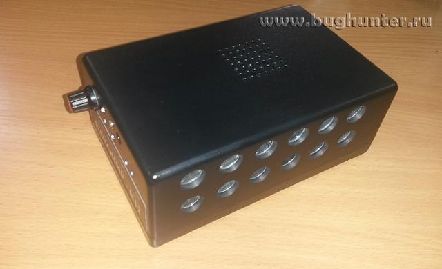 """Комбинированный блокиратор подслушивающих устройств и диктофонов """"Канонир К12"""" (нажмите на фото для увеличения)"""