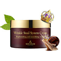 Улиточный крем The Skin House Wrinkle Snail  System Cream,100мл