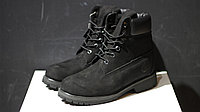 Ботинки Timberland 6-Inch PRM Waterproof Boot Black без меха