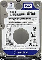 Жесткий диск 500 Gb  Western Digital Blue 2.5""