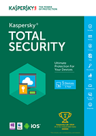 Kaspersky Total Security - Multi-Device Base 3Dt
