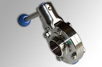 Дисковый клапан, ДИН 11850, SS (сварка/сварка), AISI 304 - DN40